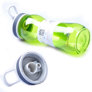 路客户外旅行便携水杯防漏太空杯运动跑步健身杯登山杯大容量水壶