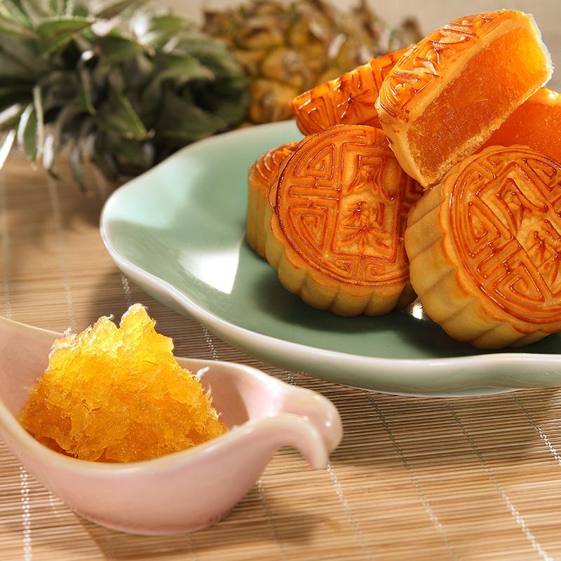 广州酒家凤梨馅料500g 袋装 月饼糕点烘焙原料