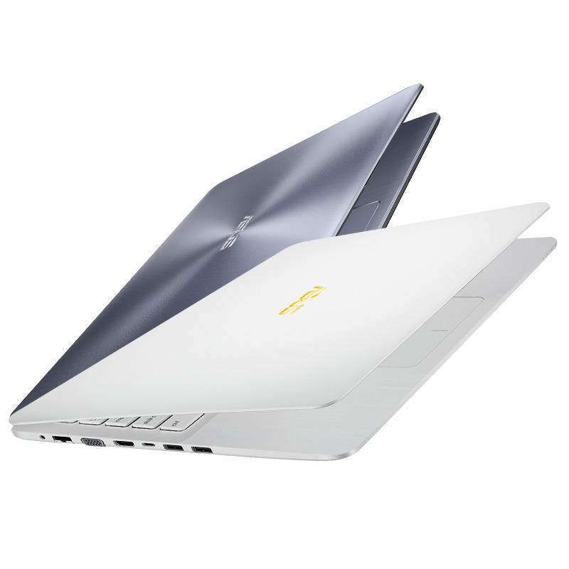 Asus-华硕 X580 商务办公笔记本电脑学生轻薄便携女生款白色 15.6英寸2G独显手提电脑上网本