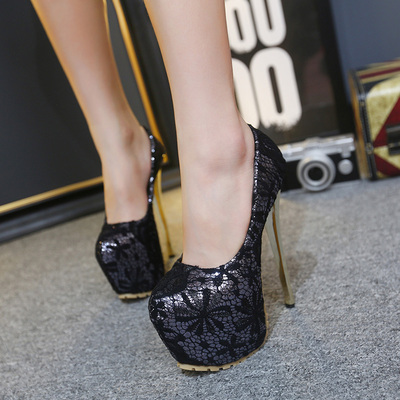 Ultra sexy lace super heels high heels 16CM size 34-40's main photo