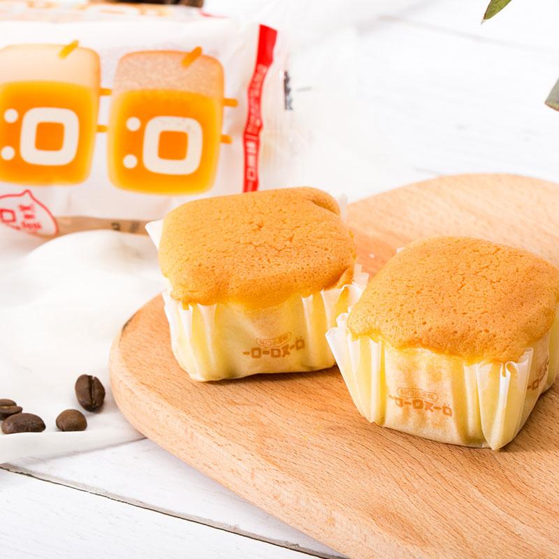 一口一口又一口轻蛋糕小口袋面包早餐糕点蒸蛋糕2个_6包散装包邮