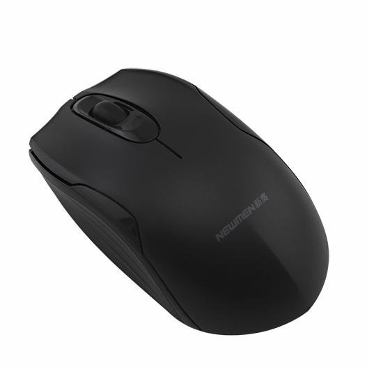 新贵自由豹092无线鼠标迷你笔记本台式电脑无限鼠标办公省电游戏可爱静音mac滑鼠便携游戏入门级光电通用正品
