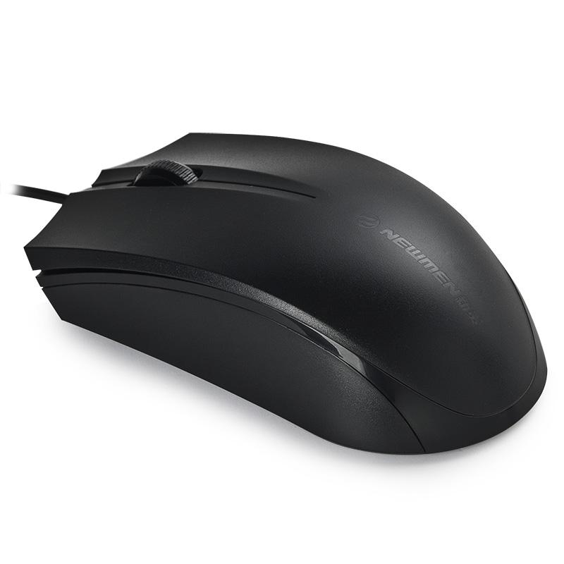 新贵追风豹010台式机电脑笔记本鼠标cf办公网吧游戏鼠标USB有线lol吃鸡滑鼠电竞人体工程学男士正品有限商务