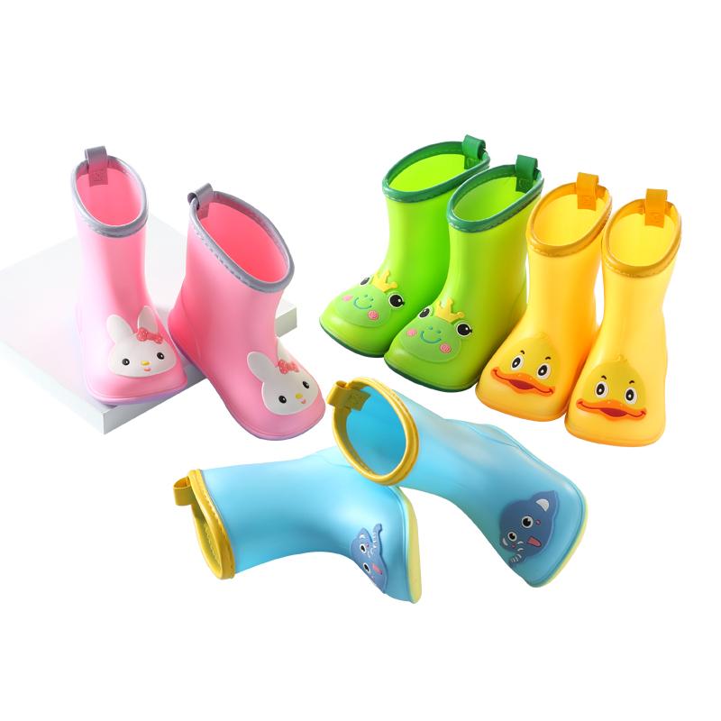 儿童雨鞋雨衣套装男童女童防滑四季幼儿小孩胶鞋小童宝宝雨靴水鞋