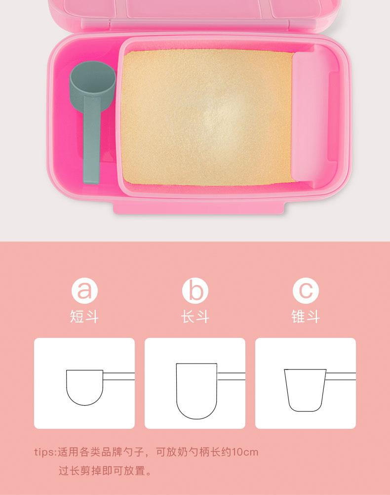短斗长斗锥斗tips:适用各类品牌勺子,可放奶勺柄长约10cm过长剪掉即可放置。-推好价 | 品质生活 精选好价