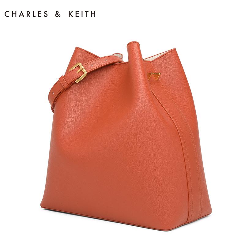 CHARLES&KEITH单肩包 CK2-10780686 简约纯色大容量子母包