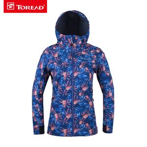 探路者外套 18秋冬户外女式防风保暖复合外套KAEG92126