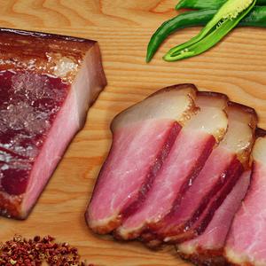 美缀美腊肉土猪重庆四川特产咸肉腊味腊肠农家自制腌肉烟熏肉400g