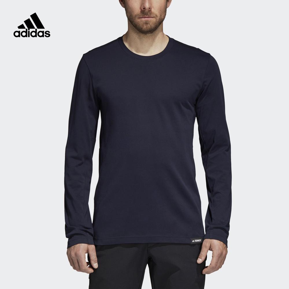 阿迪达斯官方adidas 户外 男子 户外长袖T恤 CY1777 CY1776