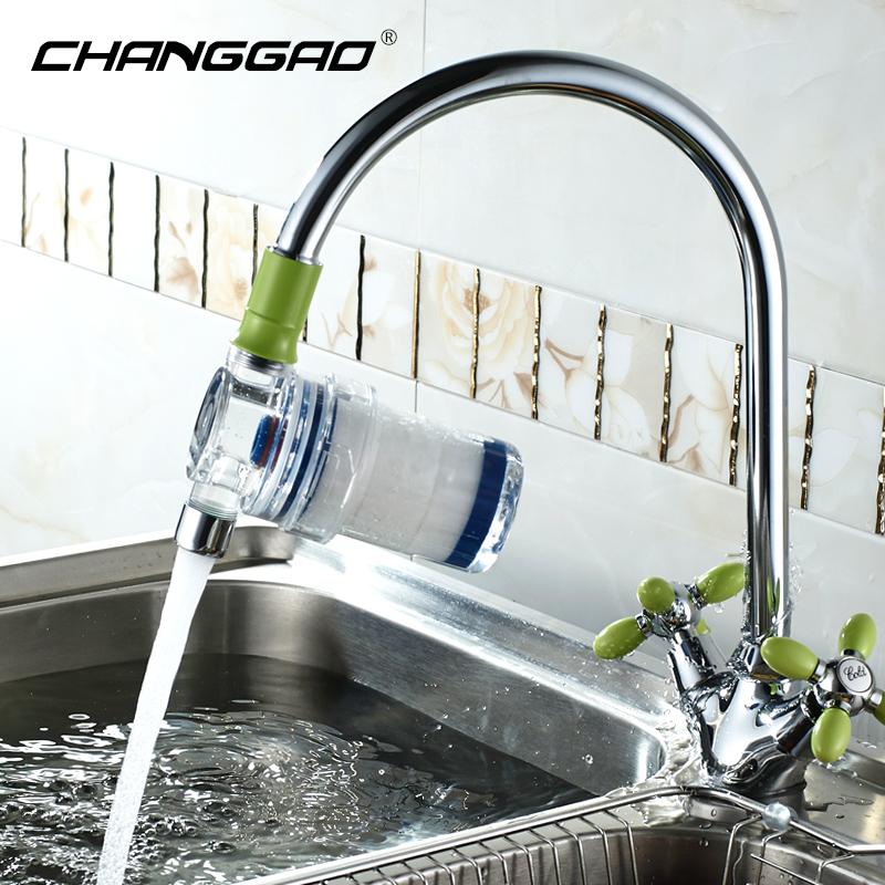 韩国进口滤芯家用淋浴花洒过滤器厨房龙头净水器洗衣机自来水除氯