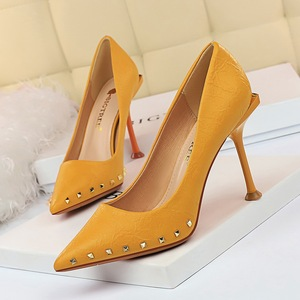 1326-1 the European and American wind restoring ancient ways for women's shoes high heel with shallow mouth sexy ni