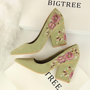 1751 the European and American wind restoring ancient ways is sexy nightclub show thin heels for women's shoes wedg