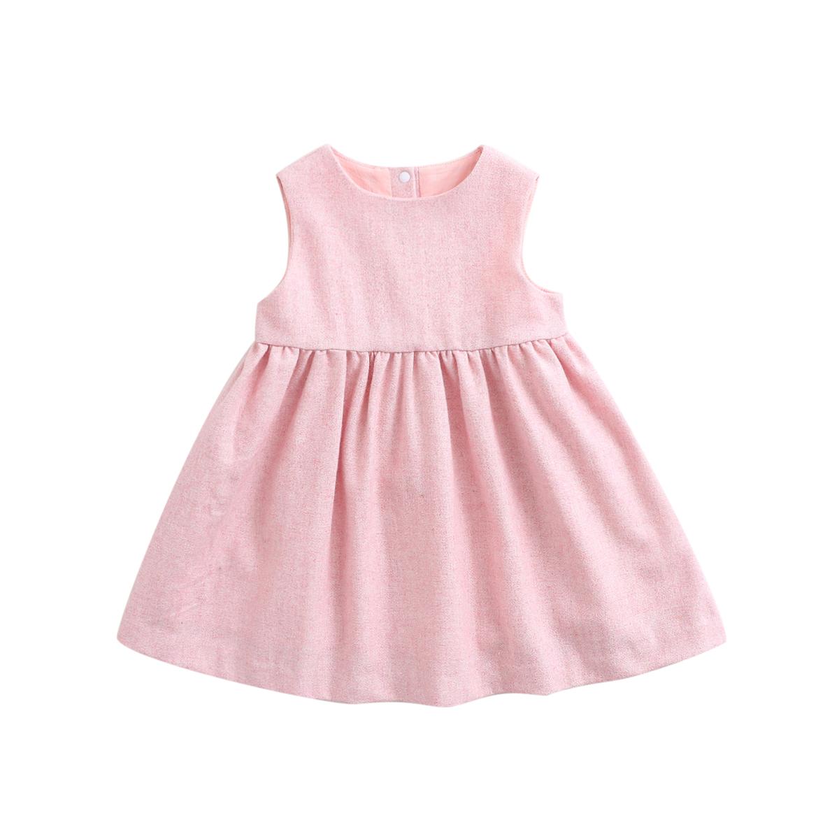 marcjanie马克珍妮新款秋装女童羊毛混纺连衣裙 宝宝羊毛裙70095