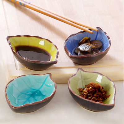 Ceramic small plates Japanese dishes vinegar sauce soy sauce dish seasoning plate dishes plate creative snack plates