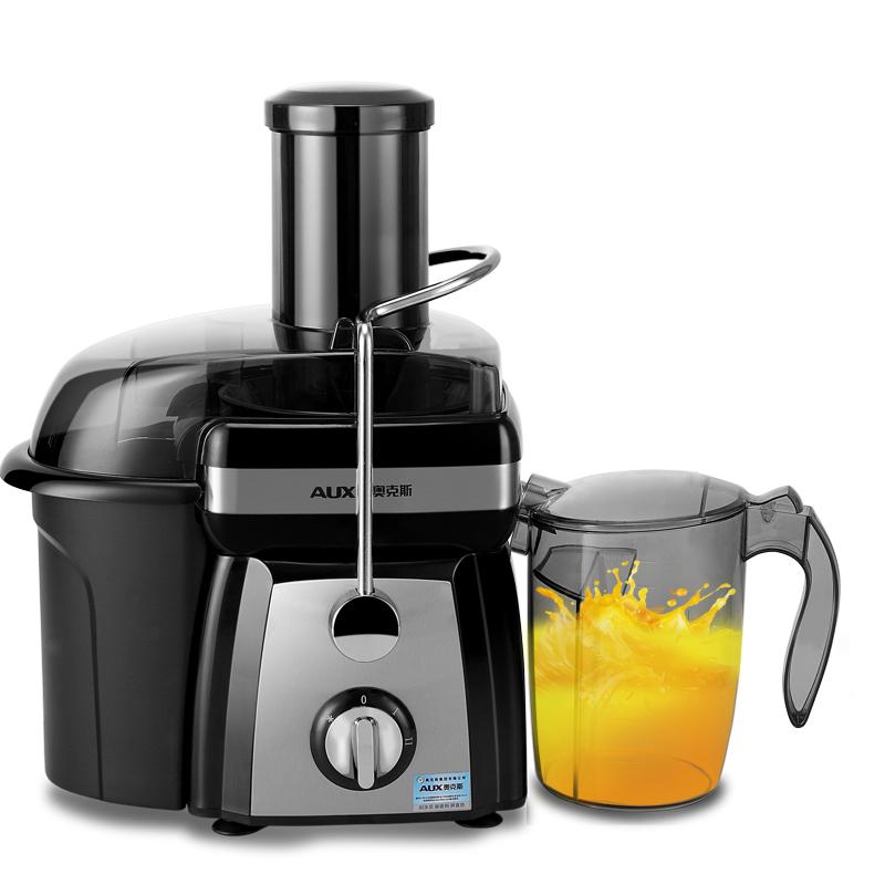 奥克斯多功能大口径打咋水果榨汁机家用全自动窄渣汁分离小型特价