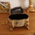 橡树庄园 欧式收纳首饰盒摆件 时尚梅迪亚梳妆台样板房软装饰品