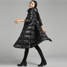 куртка Women long down jacket long