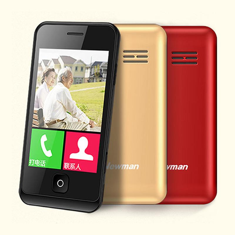 纽曼 E6老人手机超长待机大屏大字大声男女款触屏手写 非智能全新正品老年手机诺基亚三星老年机超薄学生手机
