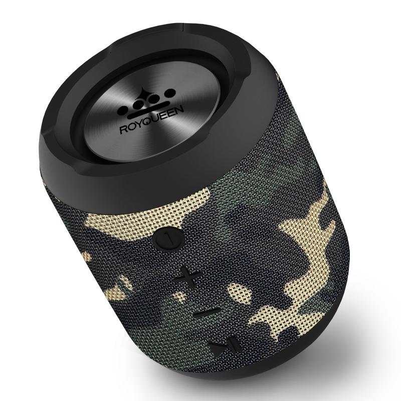 朗琴M350 蓝牙音箱户外小音响手机便携迷你防水超重低音炮收音机