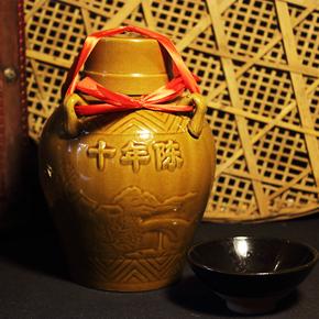 绍兴黄酒花雕酒十年陈酿6坛礼盒装