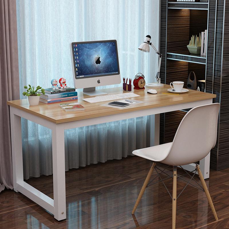 2平米 简易电脑桌台式桌家用办公桌写字桌书桌 简约台式电脑桌