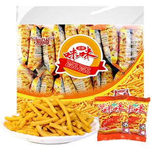 爱尚咪咪虾条膨化食品薯片礼包360gX1包网红休闲怀旧小吃零食凑单