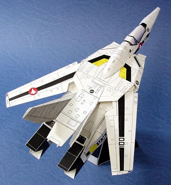 立体折纸手工制作模型剪纸 卡通宇宙飞船 星际战斗飞机 3d纸模