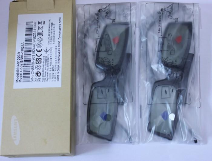 Очки 3D Samsung  3D SSG-5100GB JS9800/8000/JU7800