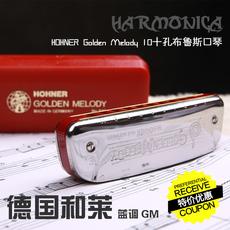 губная гармонь Hohner Golden Melody 10