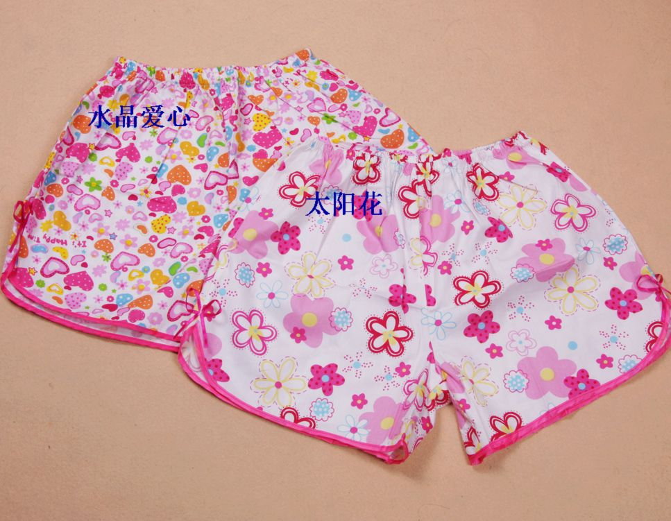 Пижамные штаны Корея м шорты мультфильм лета милые дамы чистого хлопка леггинсы брюки низы пижамы дома