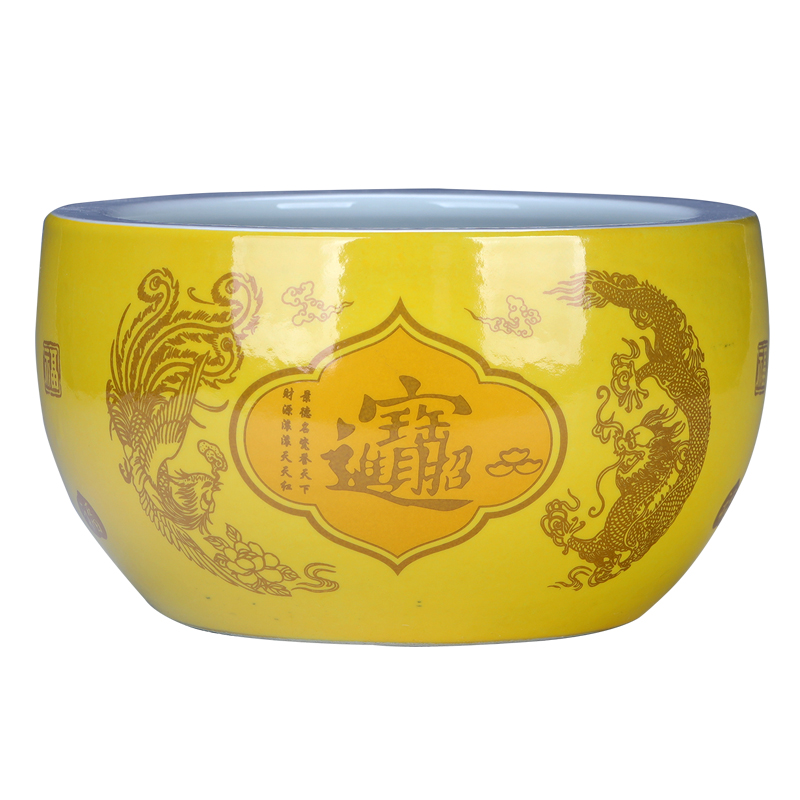 Chinese style restoring ancient ways cornucopia furnishing articles of jingdezhen ceramic opening gifts home large sitting room decorate a great marriage