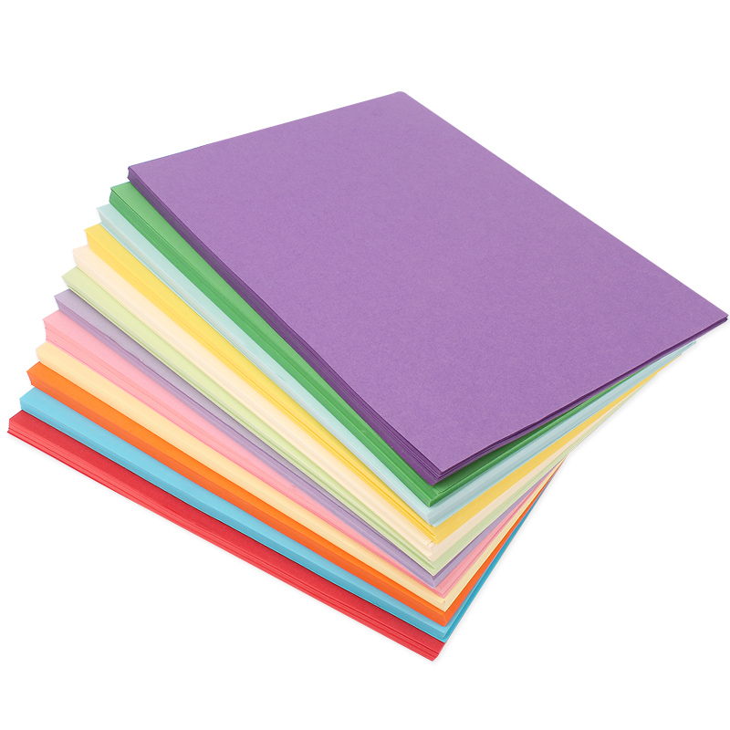Color A4 Paper Printing Copy Paper 80g Colored Paper