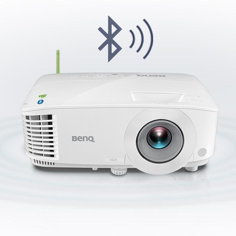 Benq明基投影仪E520 高清1080P办公家用智能wifi无线3D投影机家庭影院无屏电视手机同屏商务办公教育培训