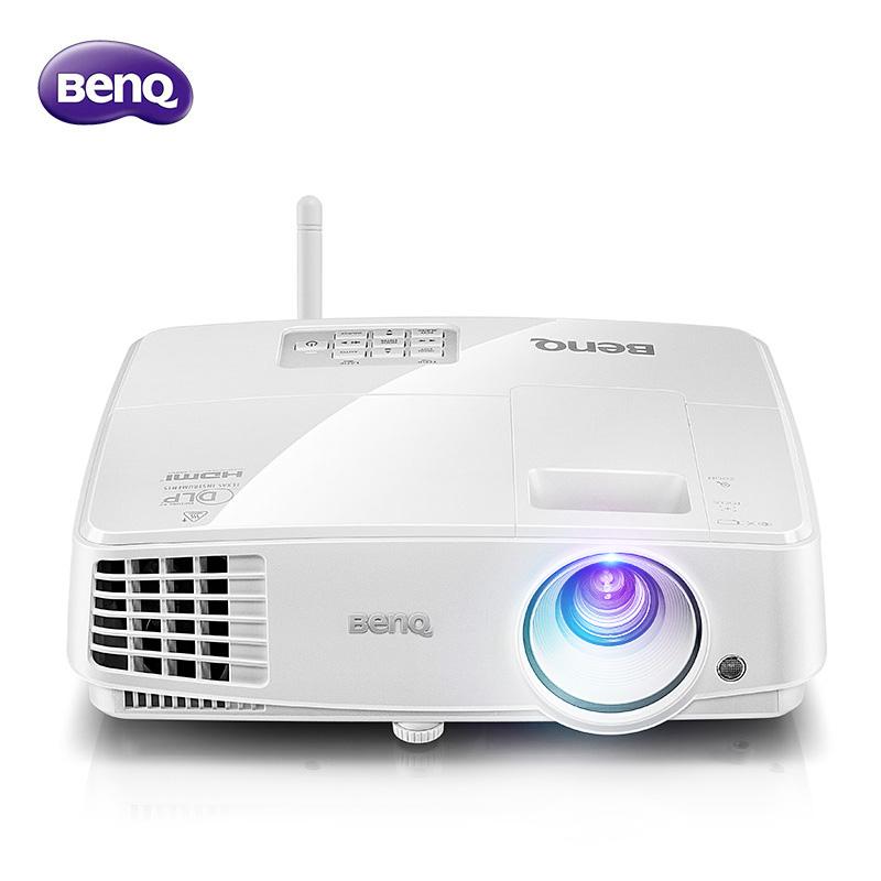 BENQ-明基投影仪E500 智能商务办公会议培训家用无线wifi手机投影