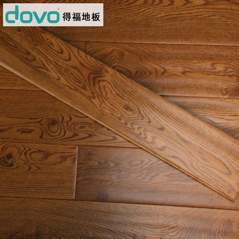 得福橡木手纹北美纯实木地板