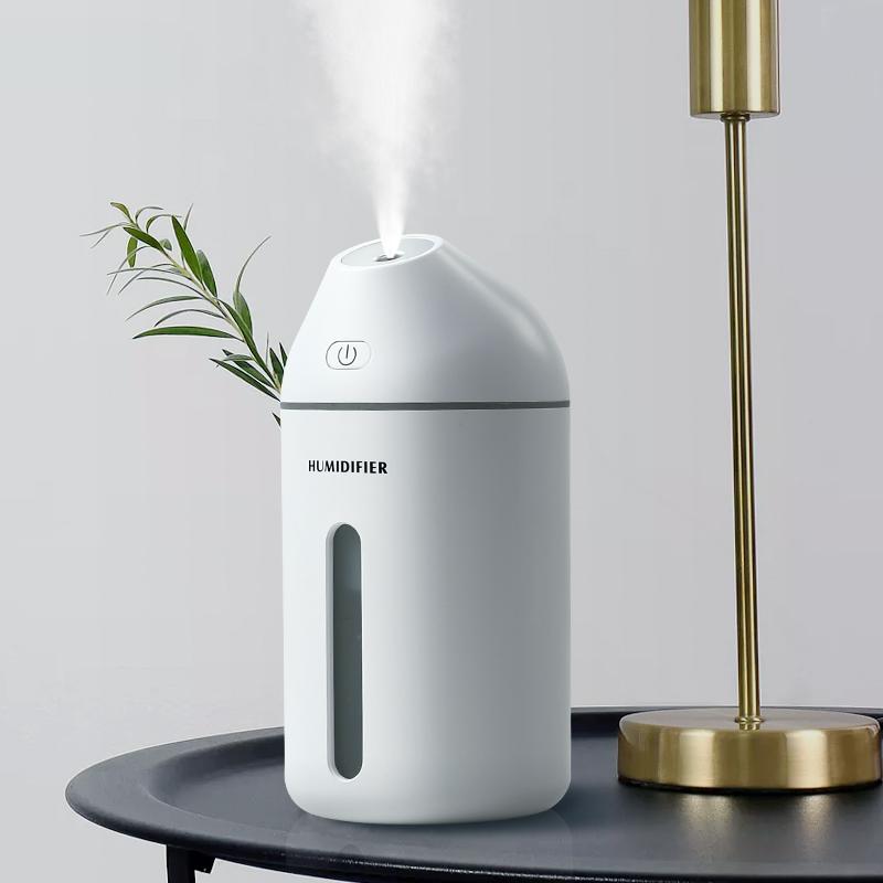 加湿器静音小型喷雾孕妇婴儿学生创意小礼物室内卧室房间家用空调屋用车载usb空气净化氧吧大容量补水保湿的