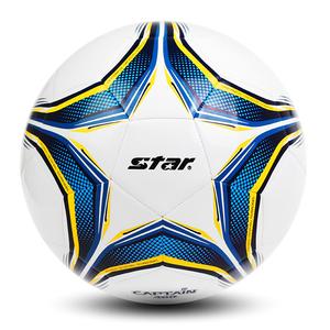 Star世达足球儿童4号 小学生训练足球成人比赛5号球真皮脚感正品