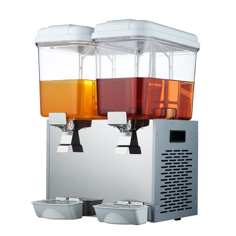 首厨饮料机商用果汁机冷热双温双缸三缸冷饮机全自动 自助奶茶机