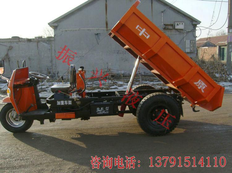 农用车三轮车液压全套 拖拉机摩托车自卸系统 简易液压动力单元图片