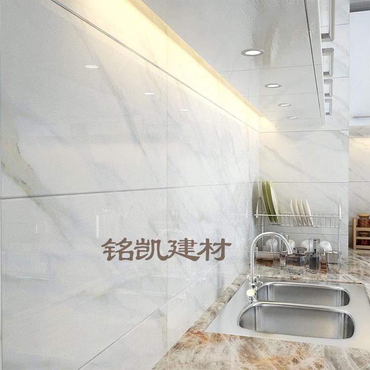 【天天特价】爵士白厨房墙砖300 600卫生间瓷砖400 超