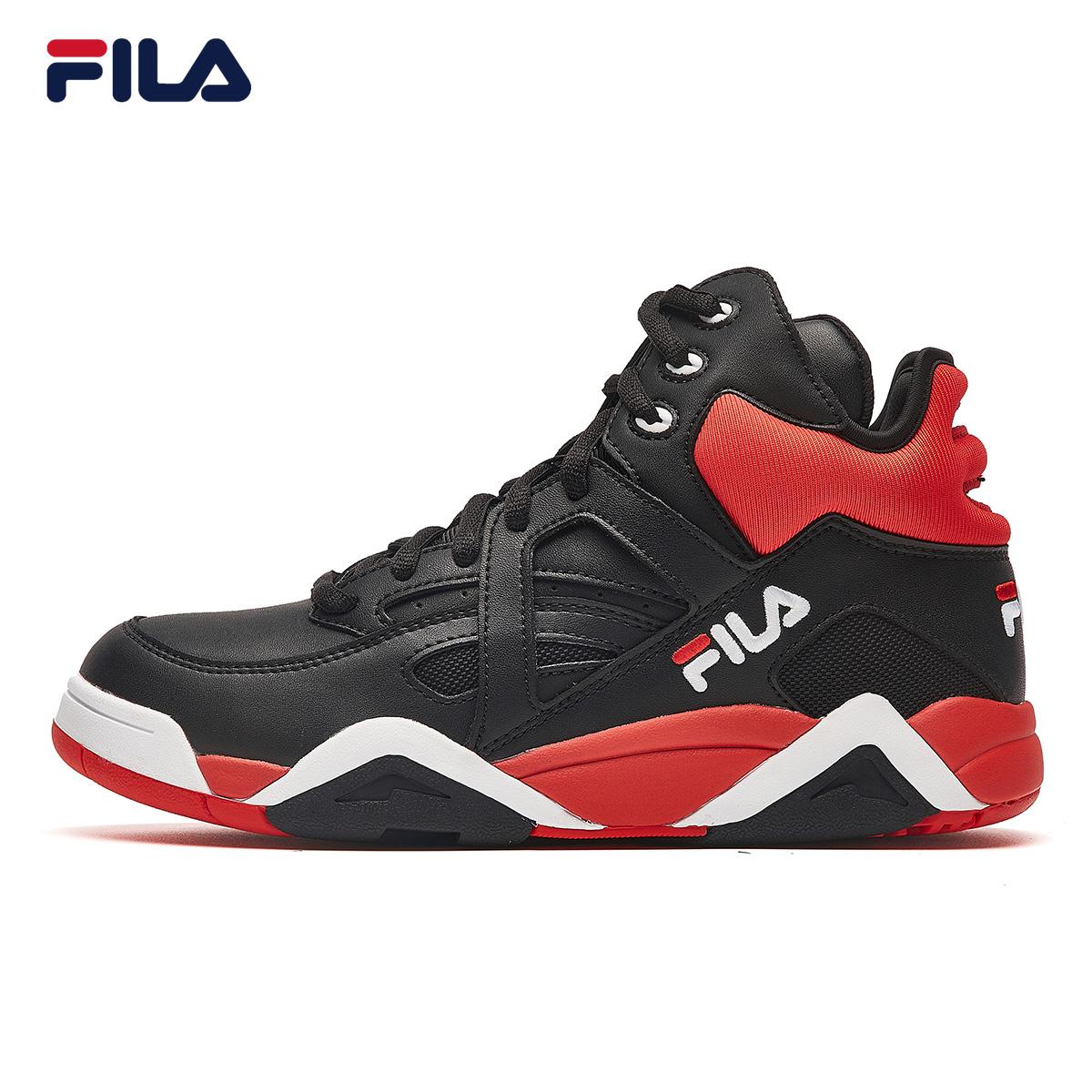 FILA斐乐篮球鞋女2018冬季新款潮流时尚运动休闲鞋女鞋