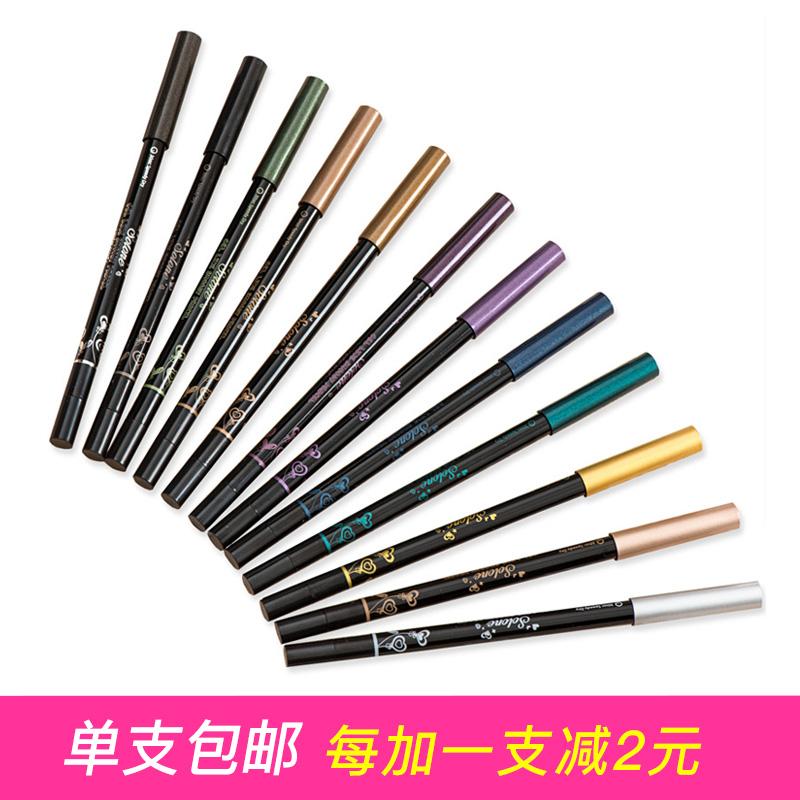 台湾Solone二代30秒定妆慕丝眼线笔 防水防汗不晕慕斯眼线胶笔