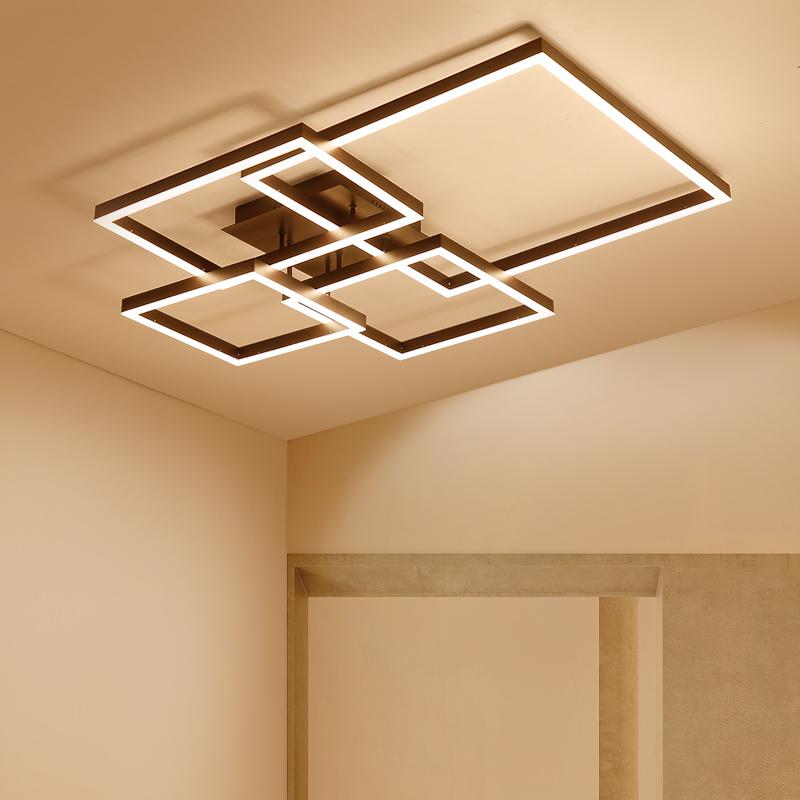 客厅灯简约现代大气家用led吸顶灯创意个性后现代工业风办公灯具