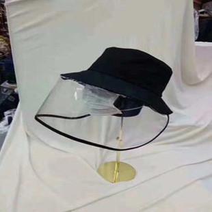 现货!防病毒帽子飞沫唾沫防护帽