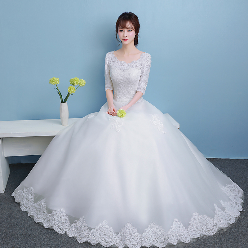 Wedding dress Happy bride klhs160902 2017