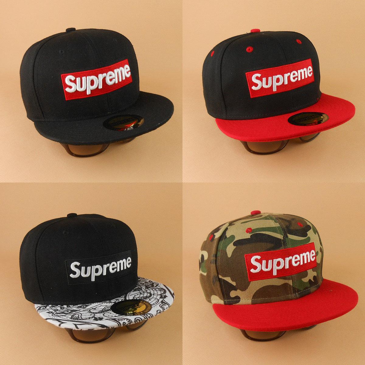 Головной убор Верховный Hat корейской версии что пару проводки бейсбол Шапка мужская хип-хоп скачков Шапки женские плашмя вдоль скейтборд Hat Cap