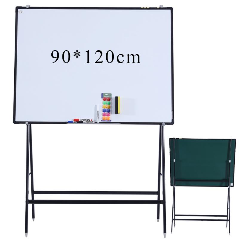 白板支架式斜放活动磁性白板办公写字板讲课培训家用教学移动黑板