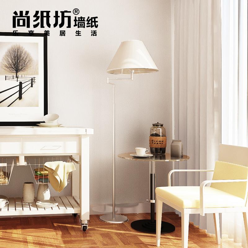 尚纸坊白色暗纹素色墙纸50953