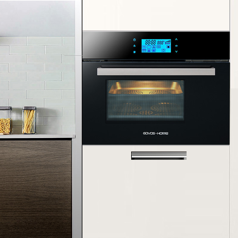 Govos SK21SUSC28B-R58U嵌入式电蒸箱烤箱一体机 二合一家用镶嵌