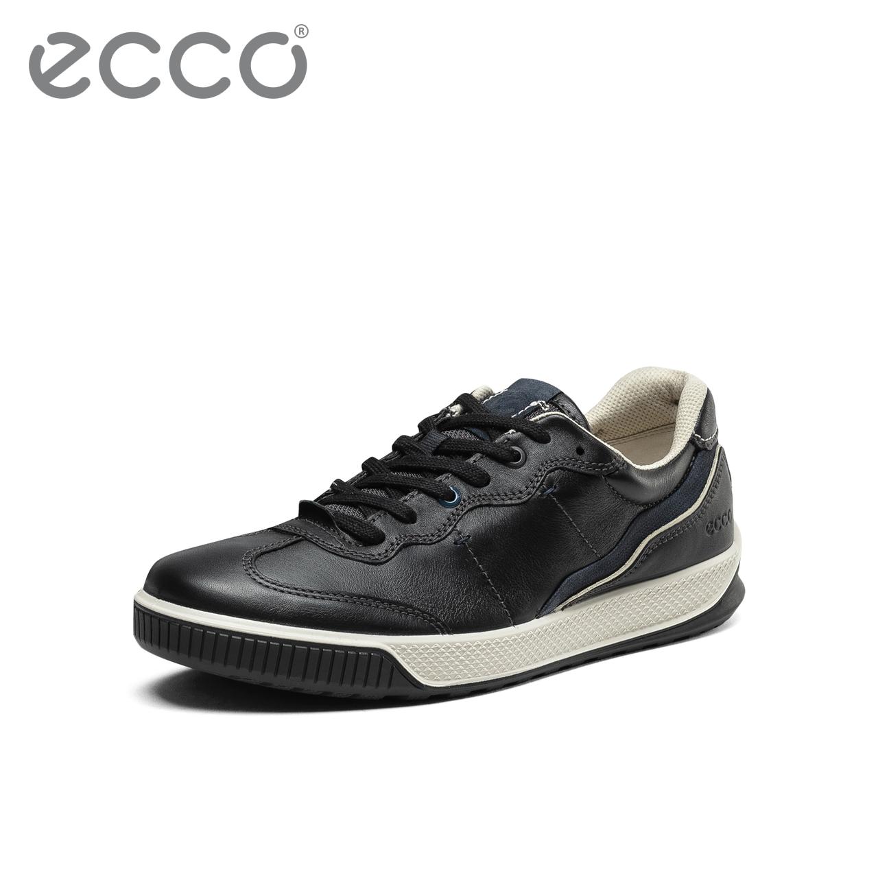 ECCO爱步时尚男运动休闲鞋潮 2019秋季新款小白鞋板鞋 路威501814